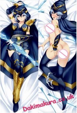 League of Legends Ashe Anime Dakimakura Japanese Pillow Cover