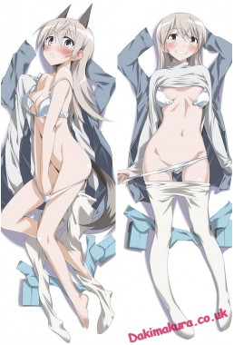 Strike Witches Body hug pillow dakimakura girlfriend body pillow cover