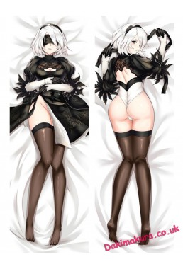 2B-Nier Automata Anime Dakimakura Japanese Hugging Body Pillow Cover