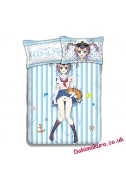 Akeno Misaki - High School Fleet Anime Bedding Sets,Bed Blanket & Duvet Cover,Bed Sheet