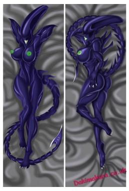 Alien dakimakura girlfriend body pillow cover