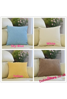 Conditional Free Gifts - Corn grain Decor Velvet Square Throw Pillow Covers,45*45cm(18x18 inch)