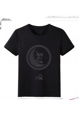 Black - Touken Ranbu Online Men Anime Fashion T-shirts