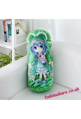 Date a Live Anime Comfort Neck and Support Mini Round Roll Bolster Dakimakura Pillow