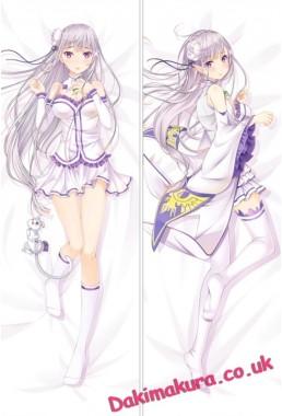 Re Zero - Emilia Dakimakura 3d pillow japanese anime pillowcase