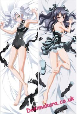 Hyperdimension Neptunia - Black Heart + Noire Full body waifu japanese anime pillowcases