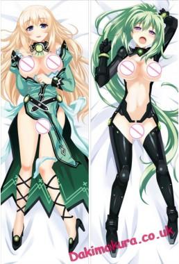 Hyperdimension Neptunia - Vert Hugging body anime cuddle pillowcovers
