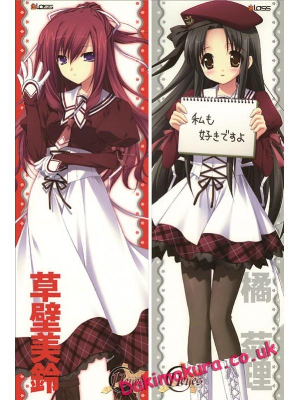 11 eyes - Misuzu Kusakabe Full body waifu anime pillowcases