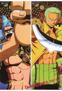One Piece - Roronoa Zoro Full body waifu anime pillowcases