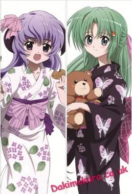 When They Cry - Shion Sonozaki dakimakura girlfriend body pillow cover
