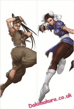 Street Fighter - Chun-Li Full body waifu anime pillowcases