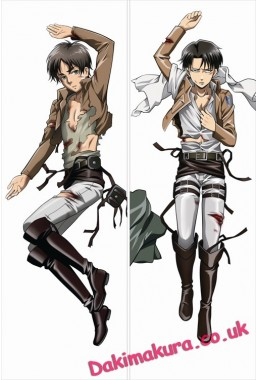 Attack on Titan- Levi Ackerman Dakimakura 3d pillow japanese anime pillowcase