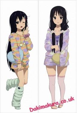 K-ON! - Mio Akiyama Japanese character body dakimakura pillow cover