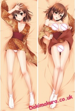 A Certain Scientific Railgun - Mikoto Misaka Full body waifu anime pillowcases