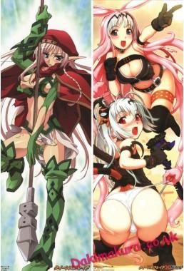Queens Blade - Melona Anime Dakimakura Pillow Cover