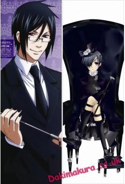 Black Butler - Sebastian Michaelis Anime Dakimakura Pillow Cover