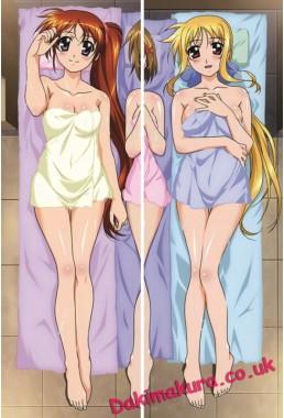 Magical Girl Lyrical Nanoha - Fate Testarossa - Nanoha Takamachi Anime Dakimakura Pillow Cover