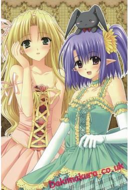 Shuffle - Kareha - Daisy Anime Dakimakura Hugging Body PillowCases