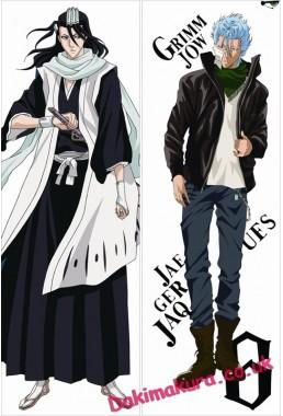Bleach - Grimmjow Jaegerjaques - Byakuya Kuchiki Anime Dakimakura Pillow Cover