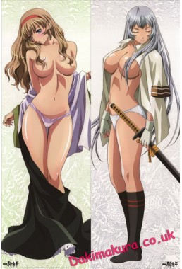Battle Vixens - Hakufu Sonsaku Anime Dakimakura Hugging Body Pillow Cover