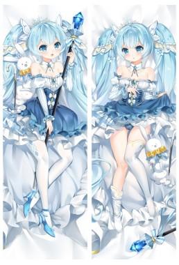 2019 New Snow Miku Anime Dakimakura Japanese Love Body Pillow Cover