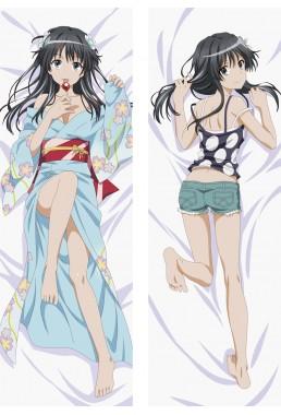 A Certain Scientific Railgun Ruiko Saten Hugs Body Waifu Japanese Anime Pillow Case Cover
