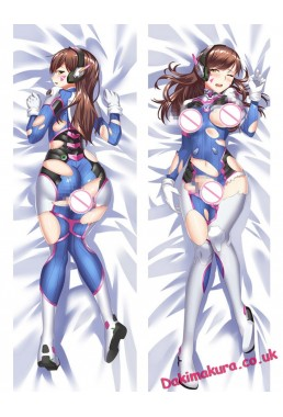 D.Va - Overwatch Anime Dakimakura Japanese Hugging Body Pillow Cover