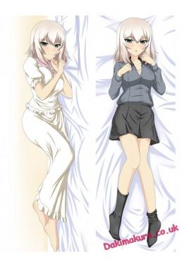 Erika Itsumi - Girls und Panzer Anime Dakimakura Japanese Hugging Body Pillow Cover
