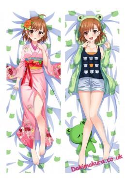 Misaka Mikoto - Toaru Majutsu no Index Anime Dakimakura Japanese Hugging Body Pillow Cover