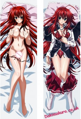 Rias Gremory - Highschool DxD Anime Dakimakura Japanese Hugging Body Pillow Cover
