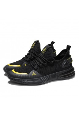 Best Running Shoes For Mens Black Yellow L T2022