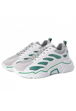 Best Sneakers Road Running Shoes White Green CN D119