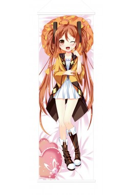 Black Bullet Japanese Anime Painting Home Decor Wall Scroll Posters